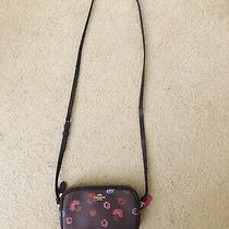 Coach Shoulder Crossbody Wristlet Bag  Floral Print Photo