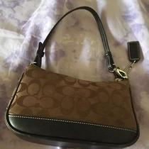 Coach Signature Brown Handbag Photo