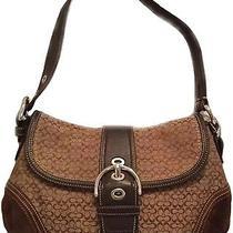 Coach Signature Designer Handbag Photo