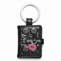 Coach Signature Embossed Picture Frame Style F61849 Sv/black Photo