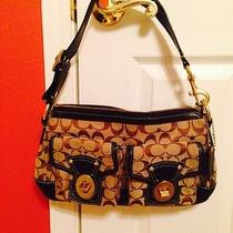 Coach Signature Legacy Satchel Bag Purse Photo