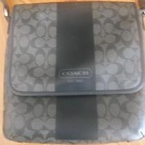 Coach Signature Messenger Bag Photo