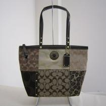 Coach Signature Multi Patchwork Totebag Photo