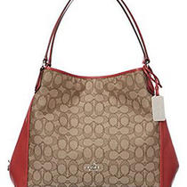 Coach Signature Phoebe Tote Carryall Shoulder Bag F36424 Photo