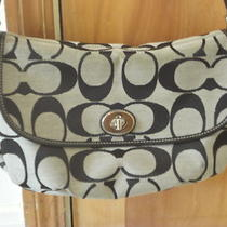 Coach Signature Purse Photo