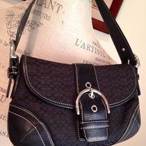 Coach Signature Small Shoulder Bag - Handbag - Purse  Photo