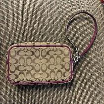 Coach Signature Small Wristlet Photo