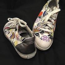 Coach Signature Style Sneakers- Size 8 (Multicolored) Photo