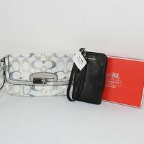 Coach Signature Wristlet and Wallet New Photo