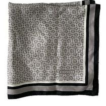 Coach Silk Scarf Square - Dark/light Grey Photo