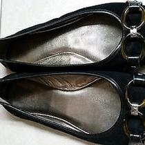 Coach Size 8.5 Flats Leather & Suede  Photo