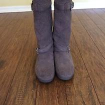 Coach Size 9 Suede Boots Photo