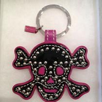 Coach Skull Key Ring- Brand New Photo