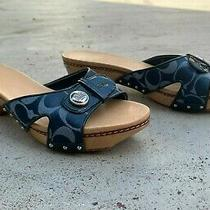 Coach Slide Sandals Women's Size 9 Barely Worn Photo