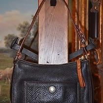 Coach Small Black Leather Hand Shoulder Bag  Purse - Beautiful Condition Photo