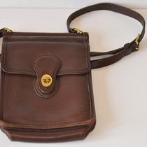 Coach Small Brown Leather Willis Bag Purse 9930 Photo
