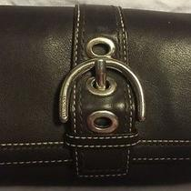 Coach Small Brown Wallet Nice Photo