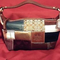 Coach Small Patchwork Leather/suede Purse Photo