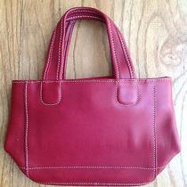 Coach Small Red Tote  Photo