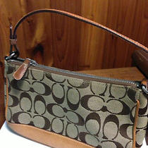 Coach Small Signature Hobo Browns Photo