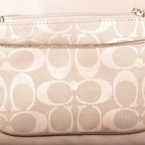 Coach Small Size Grey Clutch - New Never Used Photo