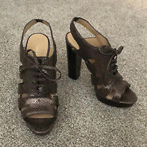 Coach Snake Open Toe Heels Sz 9 Photo