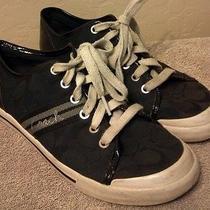 Coach Sneakers Black Women's Size 7.5 Photo