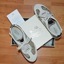 Coach Sneakers Euc W/box Size 6.5 Photo