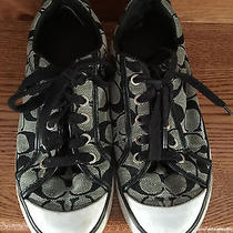 Coach Sneakers - Size 7.5 - Preloved - Priced to Sell Photo