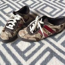 Coach Sneakers Size 7 Photo