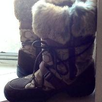 Coach Snow Boots  Photo
