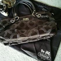 Coach Sofia Brass Handbag Orig Price 298 Photo