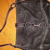 Coach Soft Black Leather Bag Purse Photo