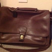 Coach Softsided Satchel Briefcase/laptop Bag Photo