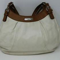 Coach Soho 3 Compartment Leather Hobo Purse Satchel Tote Handbag Photo