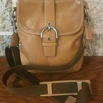 Coach Soho Buckle Doe Leather Messenger Handbag Bag Purse Swingpack Crossbody Photo