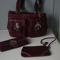 Coach Soho Satchel With Wallet and Wristlet Photo