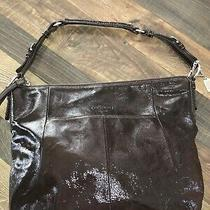 Coach Soho Xl Retired  Hipster Brown Patent no.h0873-12687 Hobo Shoulder Bag Photo