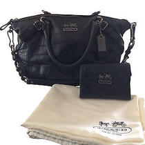 Coach Sophia Satchel and Wallet Photo
