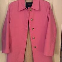 Coach Spring Cotton Jacket- Pink - Only Worn 1 Time  Photo