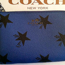 Coach Star Canyon Corner Zip Wristlet  New With Tags - Gift Box Included   Photo