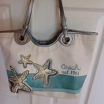 Coach Starfish Purse Tote Photo