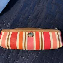 Coach Striped Pencil Case Photo