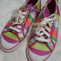 Coach Stripes Sneakers Shoes New Size 8 Photo