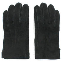 Coach Suede Leather Gloves Sizefree Photo