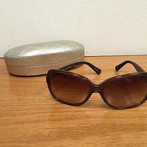 Coach Sunglasses -Brown With Coach Emblem on Arms Photo