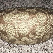 Coach Sunglasses Case Brown W/cleaner Cloth  Photo