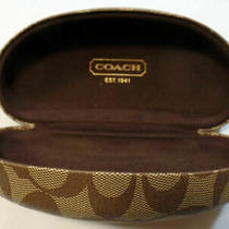 Coach  Sunglasses  Case Large With  Cloth  Authentic  New Photo