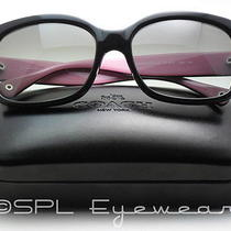 Coach Sunglasses Hc8001 Emma 5053/11 Black Square Frame Gray Gradient New  Photo
