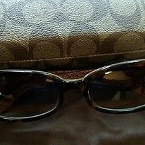 Coach Sunglasses Lindsay S429 Tortois Designer Frames  Photo